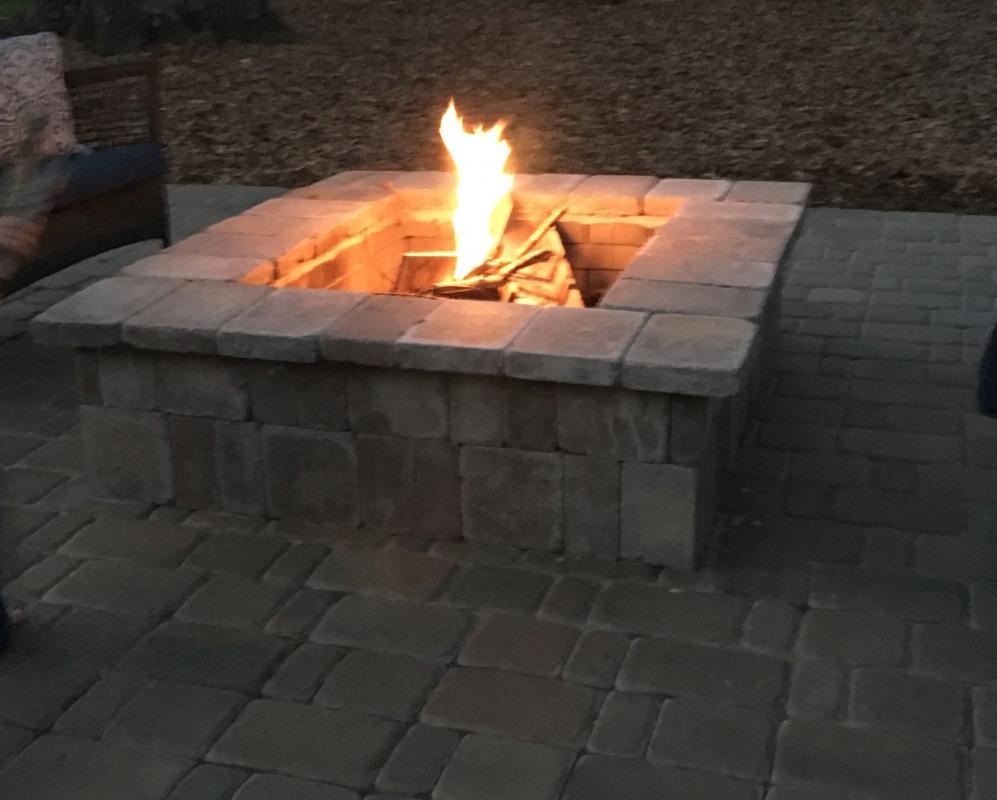 outdoor fireplace installation charlotte nc tgp lawn u0026 landscape